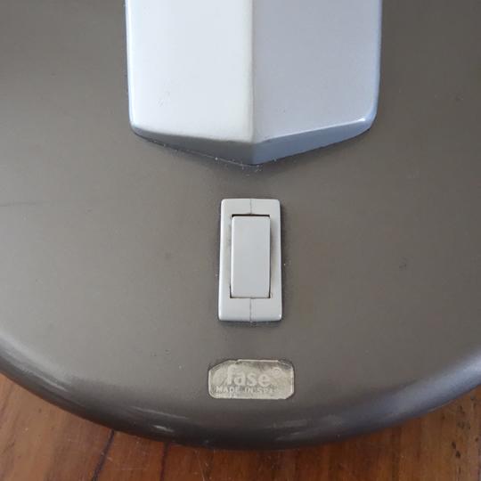 """Boomerang 64""desk lamp by Fase"