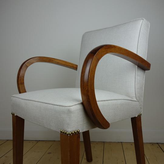1940's French bridge chairs