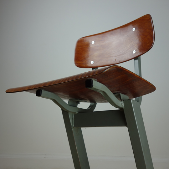 Vintage toddler school chair