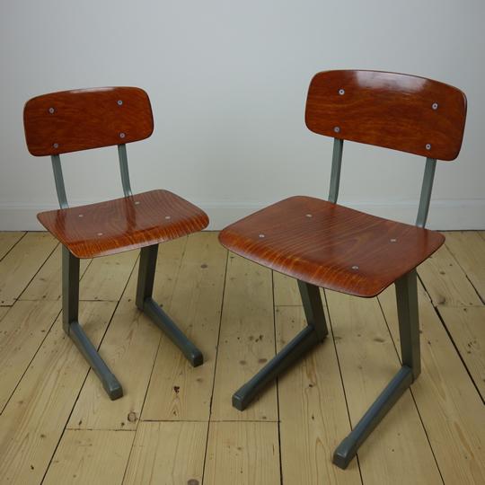 Vintage child's school chair