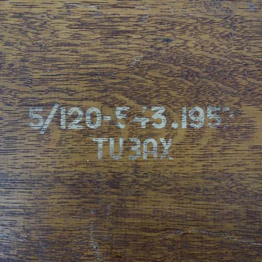 Vintage school desk by Tubax