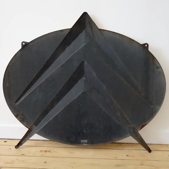 1950's Citroen enamel sign
