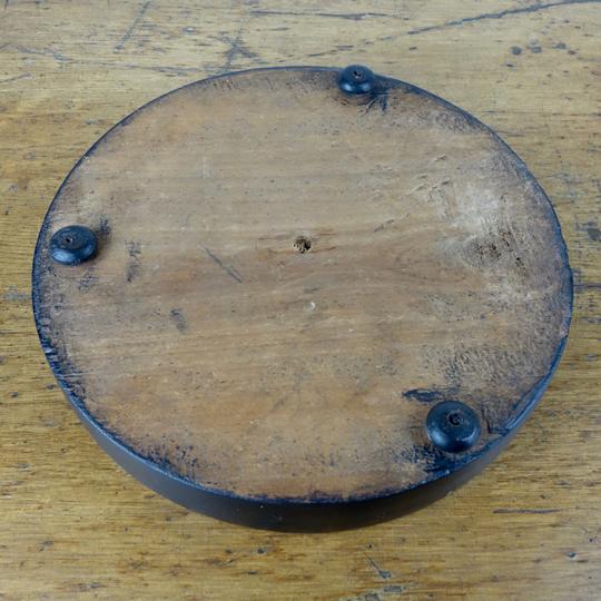 Antique glass dome -D-