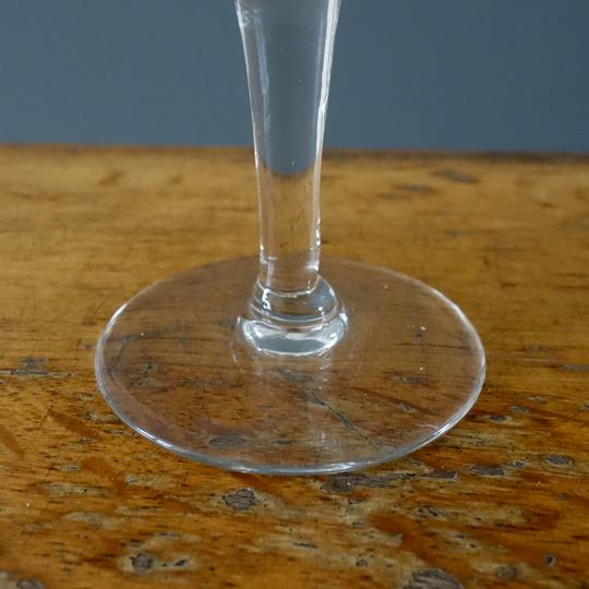 Vintage etched cocktail glasses