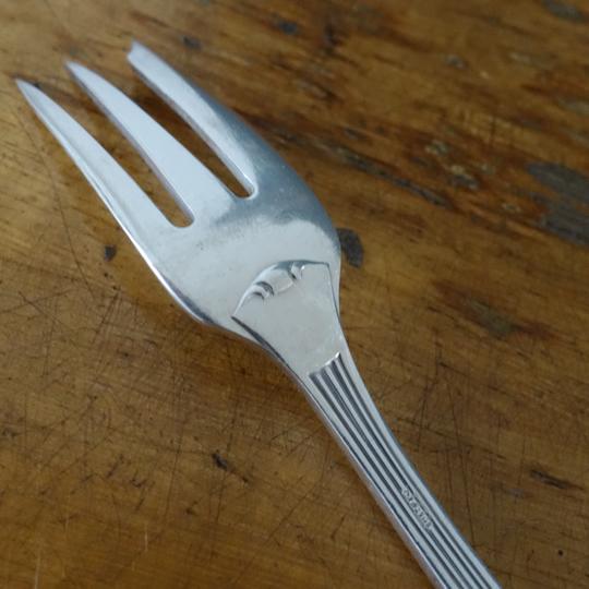 Art Deco cake forks -D-