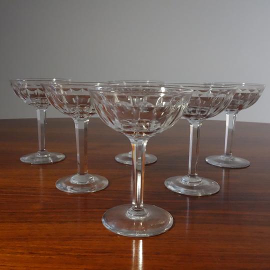 Champagne crystal glasses OSRAM (V.S.L)