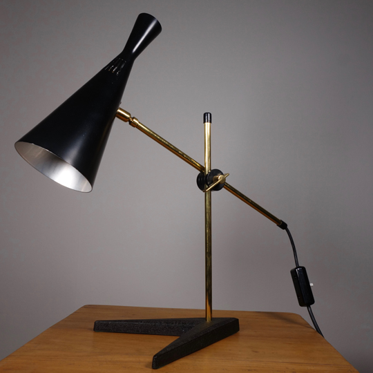 Desk Lamp by G. A. Scott for Maclamp