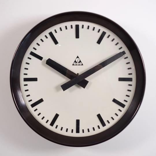 Industrial Wall Clock By Pragotron