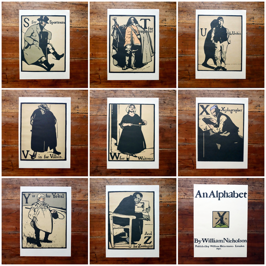 'An Alphabet' by W.Nicholson (1975).
