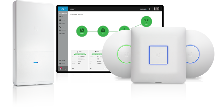 unifi cloud wifi ubiquiti network