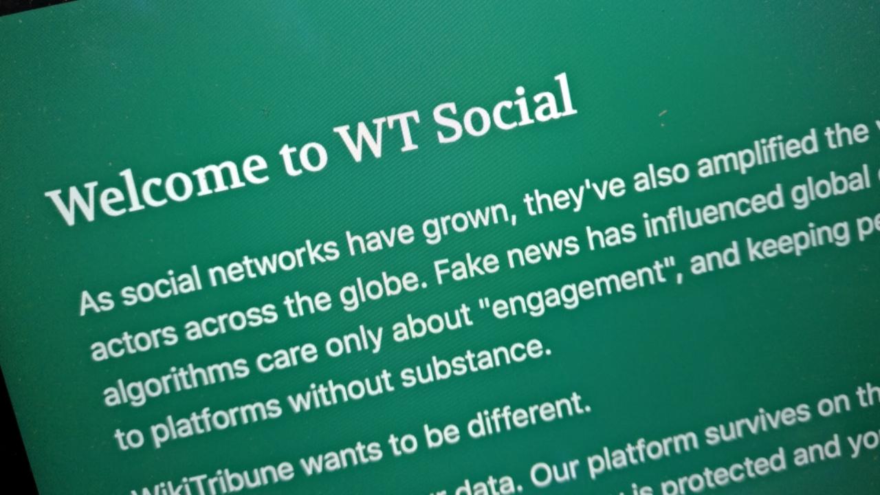 W.T. Social Landing Page