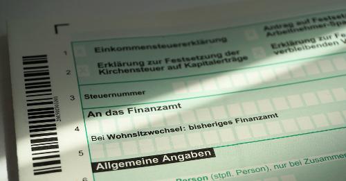 erste Steuererklärung als Soldat - Unterlagen