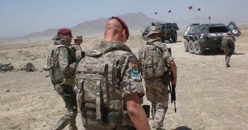 Soldat Bundeswehr Auslandseinsatz