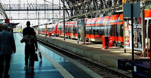 Bahnfahrt - deutsche Bahn