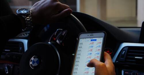 Broker im Ausland - Handy App