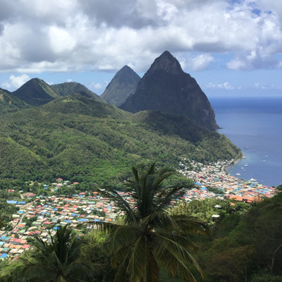 Soufriere St Lucia Caribbean