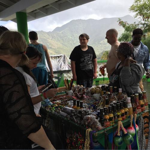 Market Soufriere St Lucia Caribbean