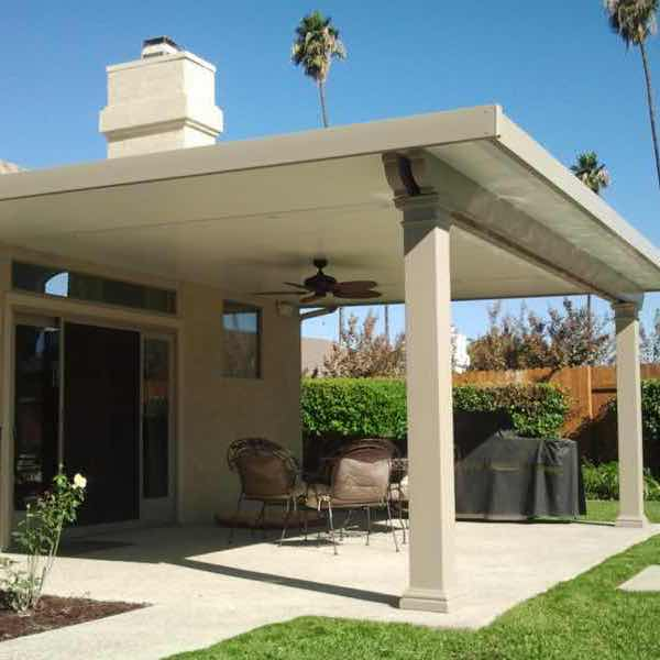 Solid Top Insulated Patio Covers