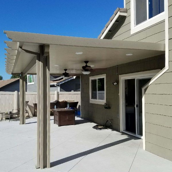 Solid Top Non-Insulated Patio Covers - Aluminum Patio Covers • Mr. Patio Cover