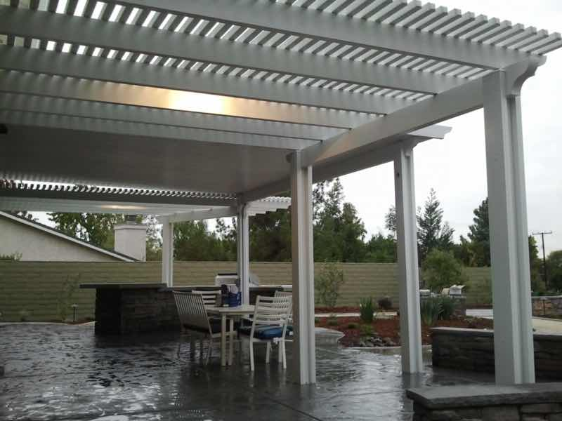 Patio cover installed in Upland CA