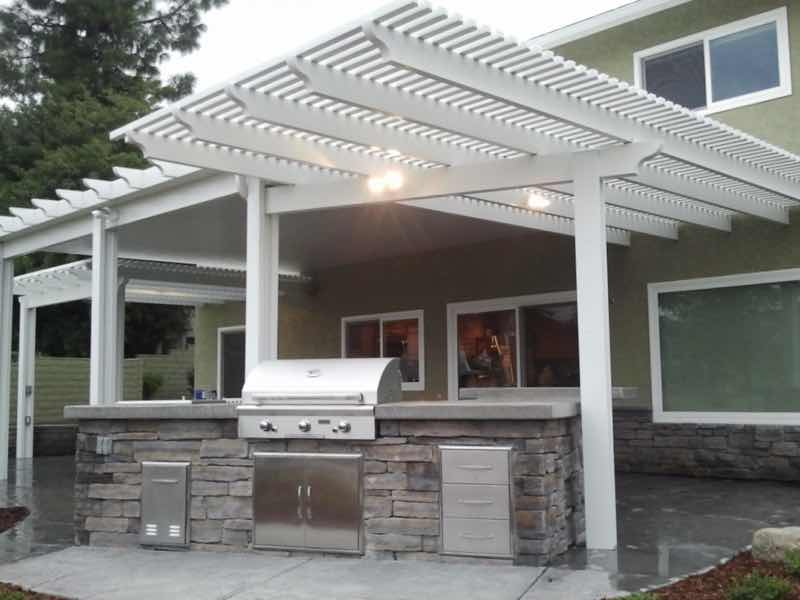Patio cover installed in Diamond Bar CA