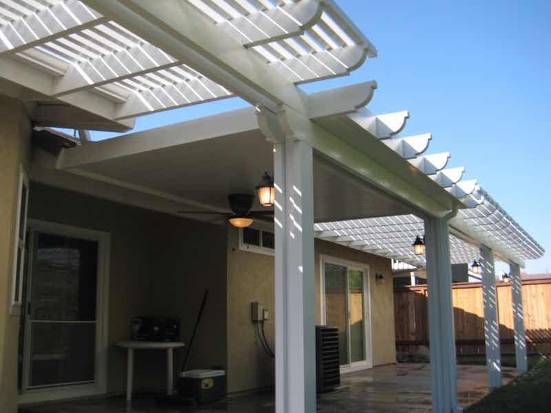 Patio cover installed in Rancho Cucamonga CA