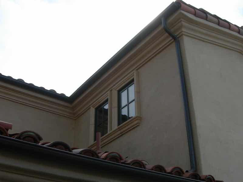 Rain gutter installed in Claremont CA