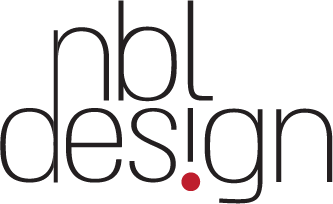 NBL Design White logo