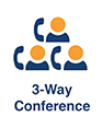 Equiinet 3-Way Conference