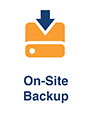 On-Site Backup Feature