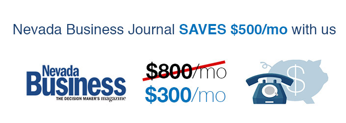 Nevada Business Journal saves $500 / month with Equiinet