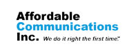 Affordable Communications Inc. Logo