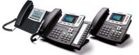 Line of Equiinet IP Phones