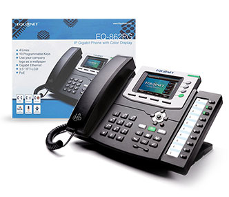 The EQ-862PG VoIP Phone