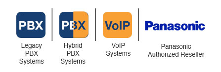 Legacy PBX Systems, Hybrid PBX Systems, VoIP Systems, Panasonic Authorized Reseller