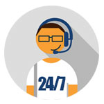 24/7 Support and Customer Service
