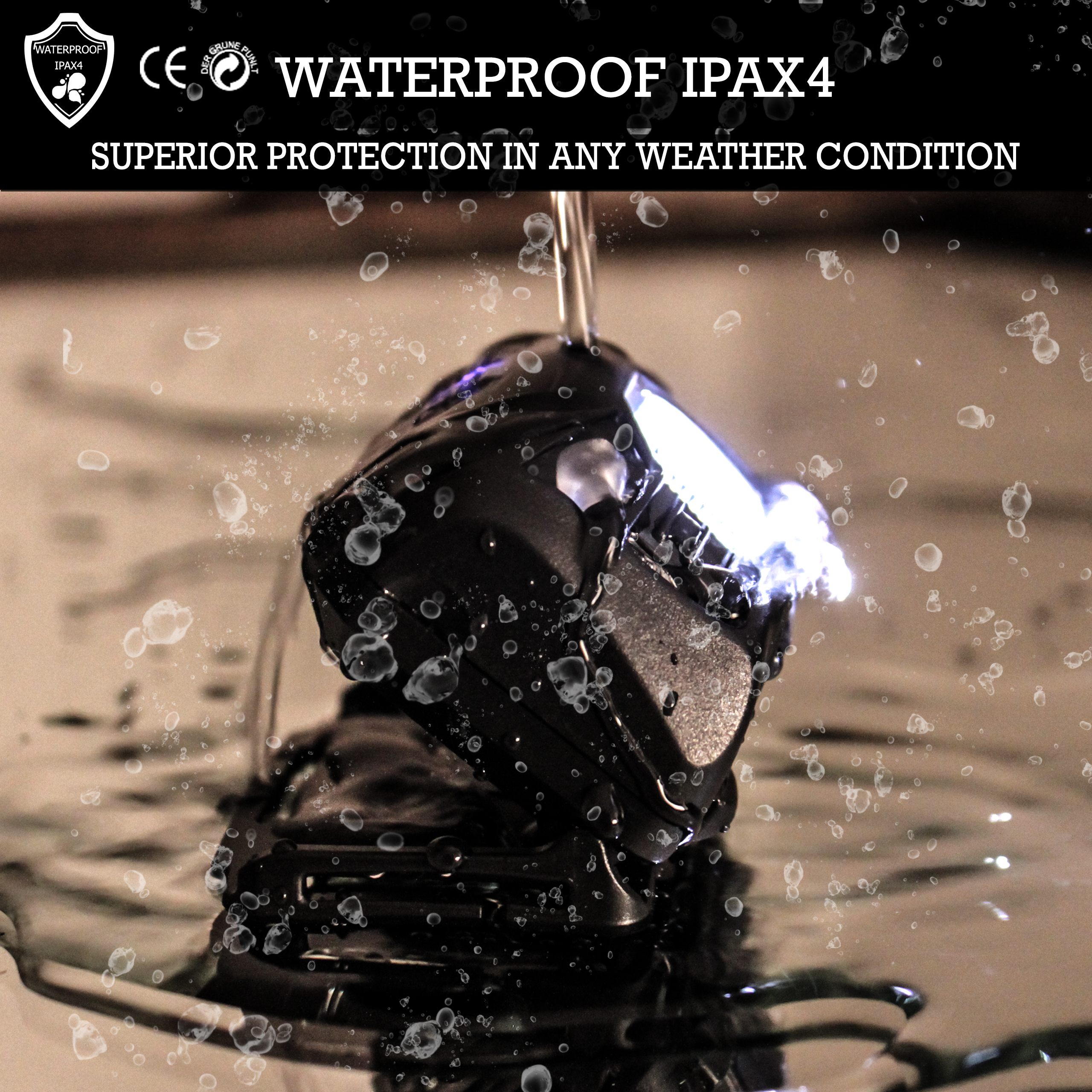 ipax4 waterproof