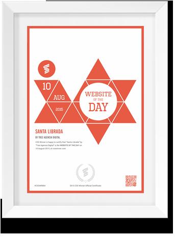 Website of day csswinner