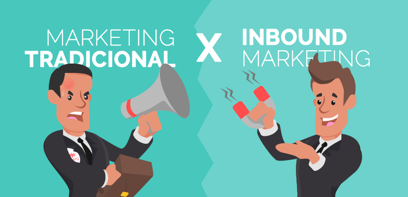 Diferencias entre Inbound Marketing y Marketing Tradicional