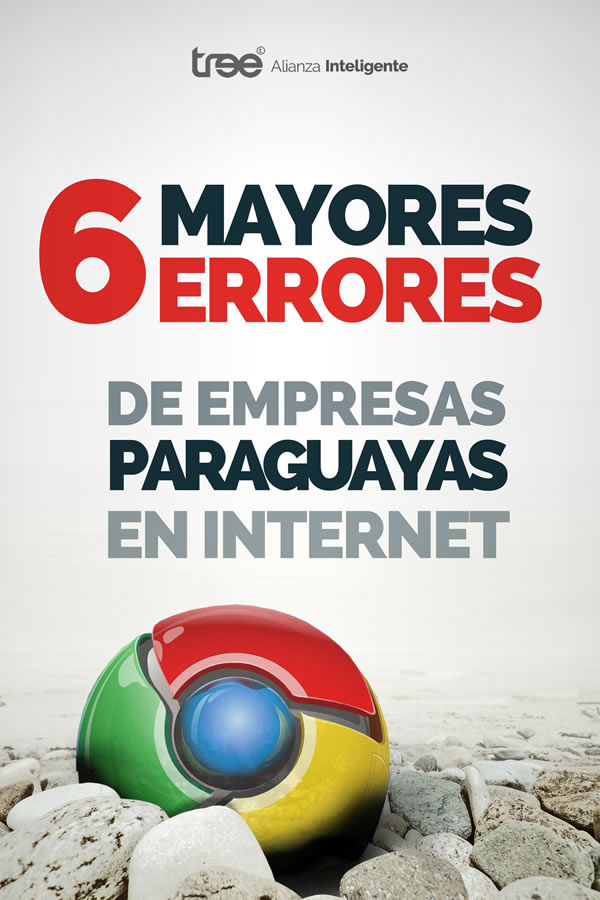 Ebook - 6 Mayores Errores de Empresas Paraguayas en Internet