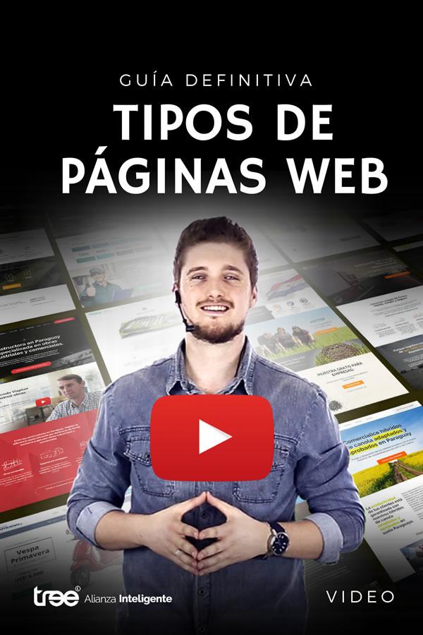 Vídeo - Los tipos de páginas web más adecuadas para cada negocio.