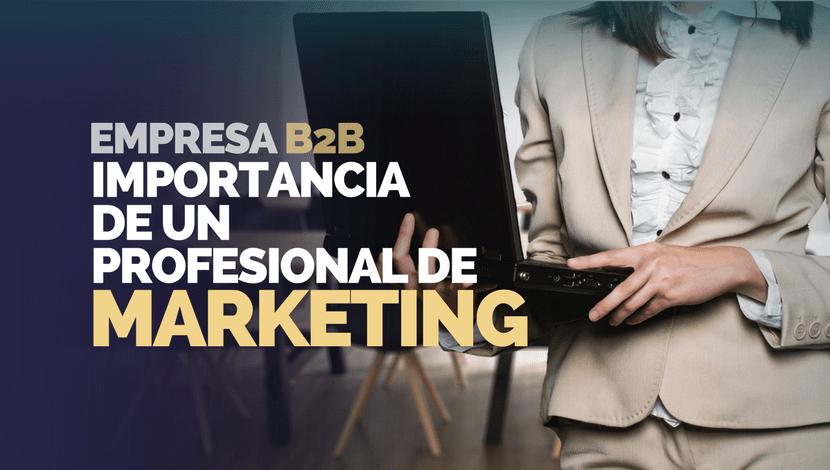 La Importancia de un Profesional de Marketing para una Empresa B2B