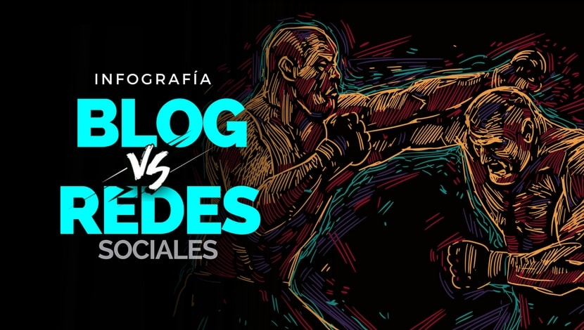 Marketing Digital: Blogs vs Redes Sociales [Infografía]