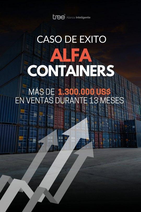 Caso Alfa Containers - Más de US$ 1.300.000 en Ventas