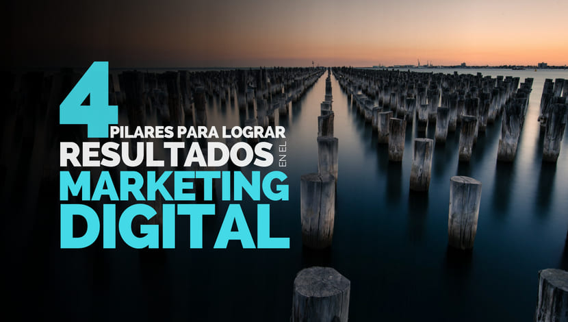 4 Pilares para lograr resultados en el marketing digital