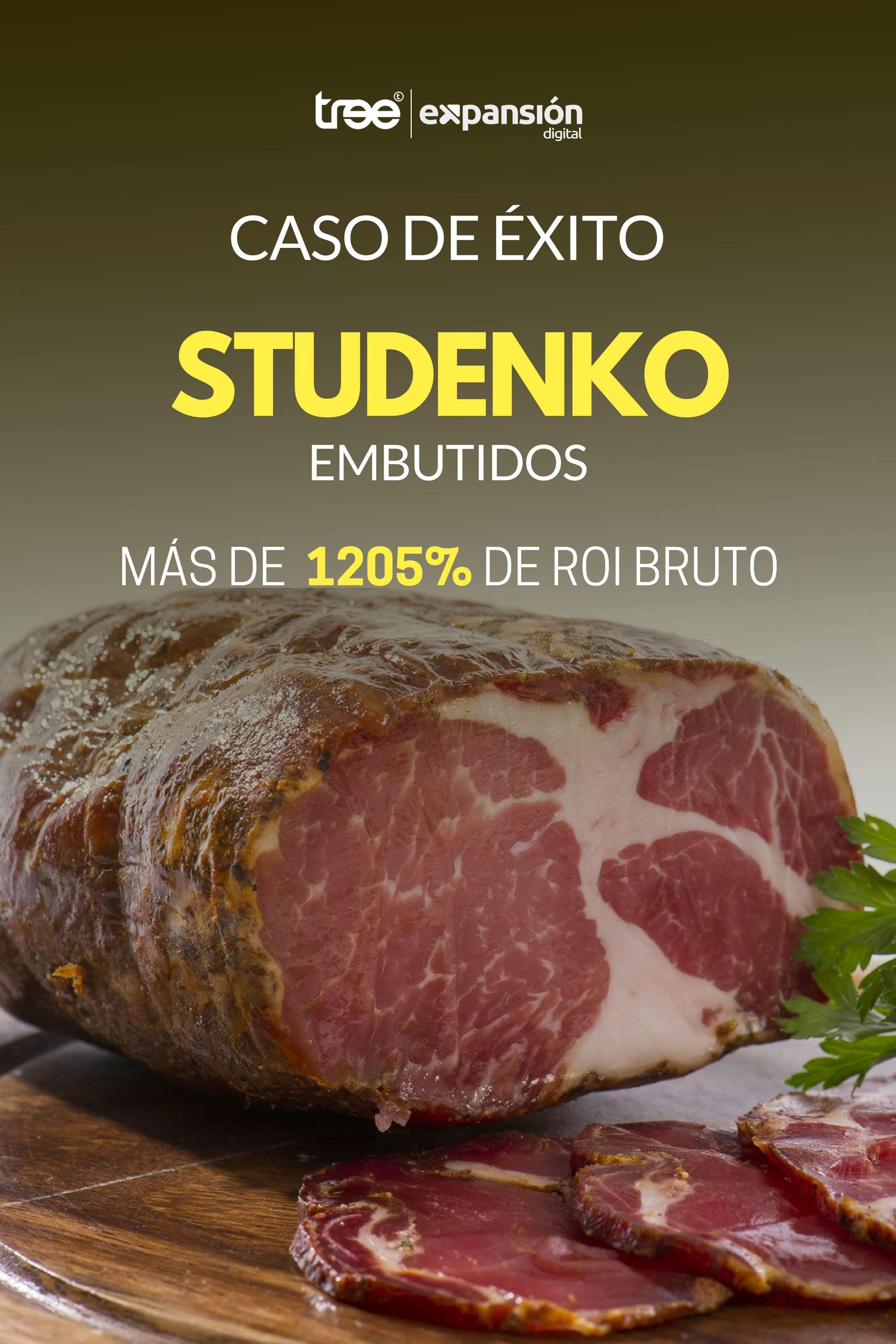 Caso Studenko Embutidos - Más de 1205% de ROI Bruto