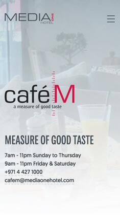 Food & Beverage Website Design