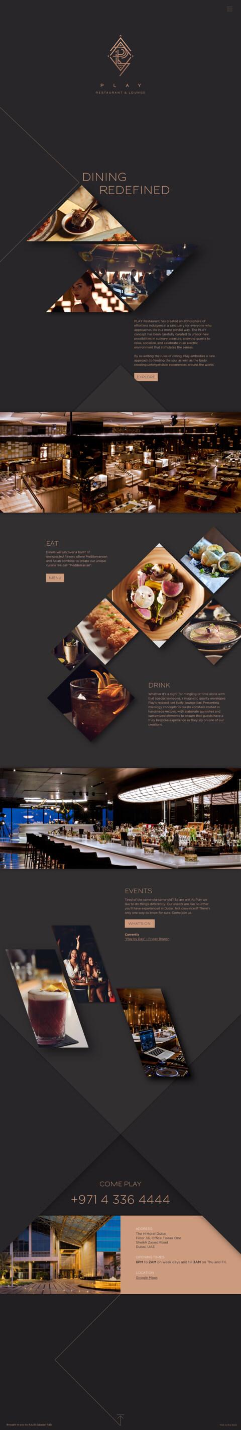 Rove Hotel Website