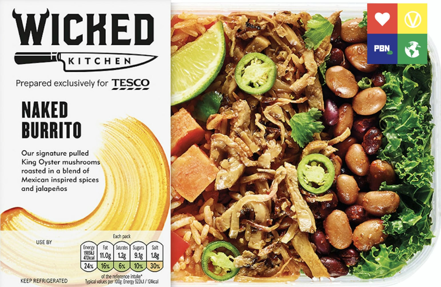 breaking tesco launches major new vegan range in 600 stores across uk - Wicked Kitchen
