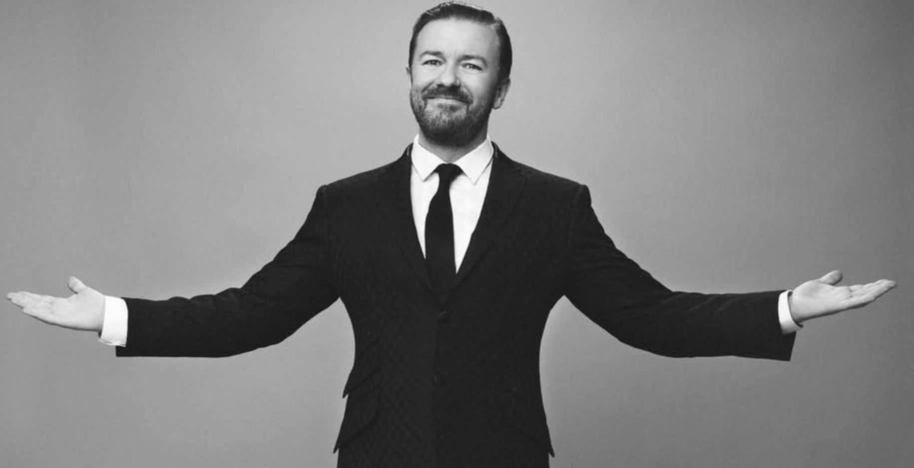 Comdian and actor Ricky Gervais